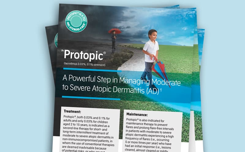 Thumbnail image of Protopic® Maintenance Therapy Brochure